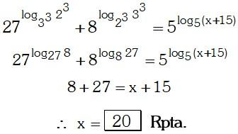 Respuesta 5 de Logaritmos