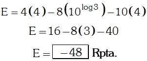 Respuesta 7 de Logaritmo