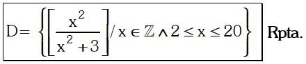 Respuesta Ejemplo 1 de Teoría de Conjuntos