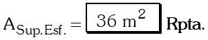Respuesta Ejemplo 2 de Esfera.