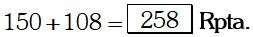 Respuesta Ejemplo 3 de Magnitudes Proporcionales