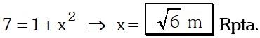 Respuesta Ejemplo 3 de Relaciones Metricas
