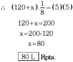 Respuesta Ejemplo 4 de Regla de Tres Simple y compuesta