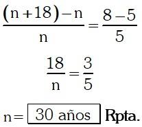 Respuesta Ejemplo 5 de Razones y Proporciones