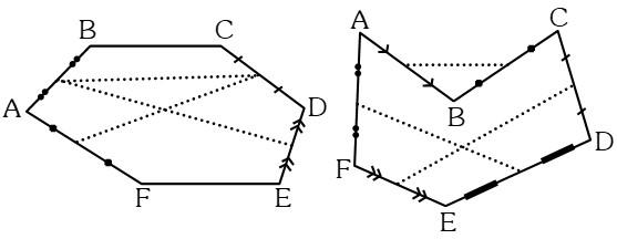 Segmentos Perímetro de un Polígono