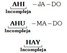 Silabas Incomplejas