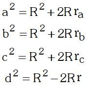 Solución Ejemplo 1 de Relaciones Metricas