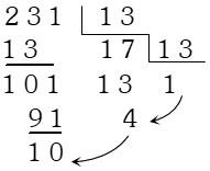 Solución Ejemplo 1 de Sistemas de Numeración