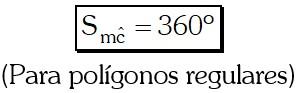 Suma de las Medidas de los Ángulos Centrales