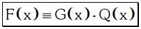 Teorema 1 Divisibilidad de Polinomios
