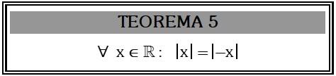 Teorema 5 de Valor Absoluto