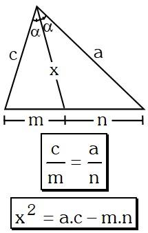 Teorema de la Bisectriz Interior