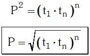 Terminos Equidistantes 4 Notación de una Progresión Geométrica