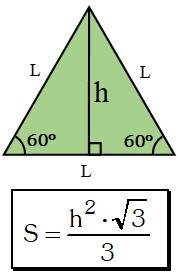 Triángulo Equilátero Altura