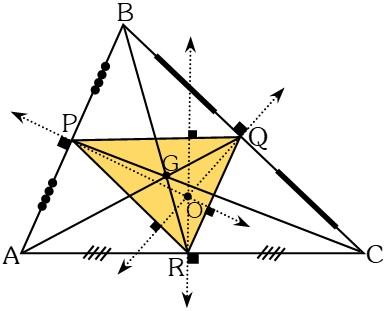 Triángulo Mediano