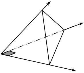 Triedro Rectángulo