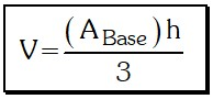 Volumen Pirámide Regular